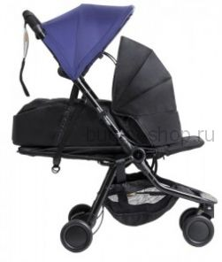 Nano (Нано) с коконом, Детская прогулочная коляска Mountain Buggy Nano с коконом для новорожденного